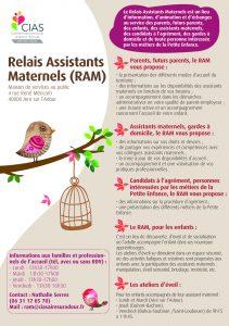 Flyer Relais Assistants Maternels 2018