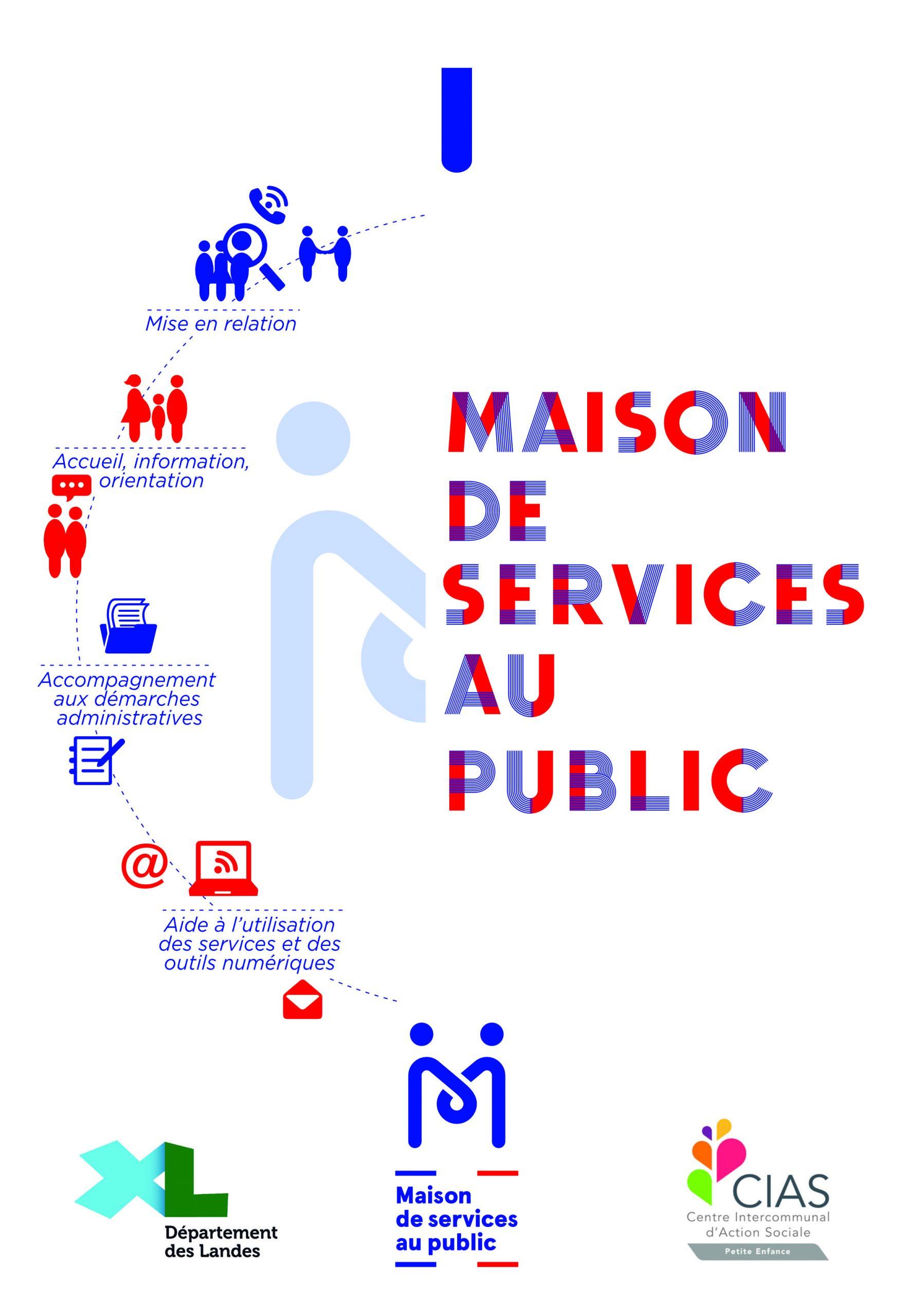 Dépliant Maison de Services Au Public