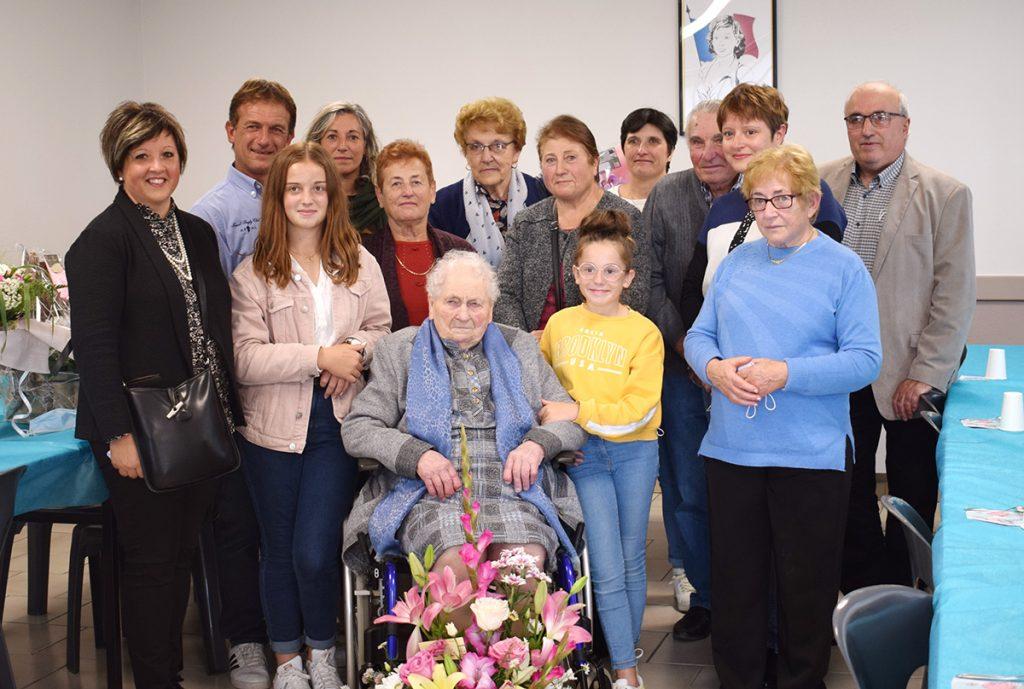 100 ans de Mme Zoé Laporte